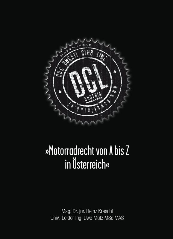 """Buch """"Motorradrecht von A-Z in Österreich"""""""
