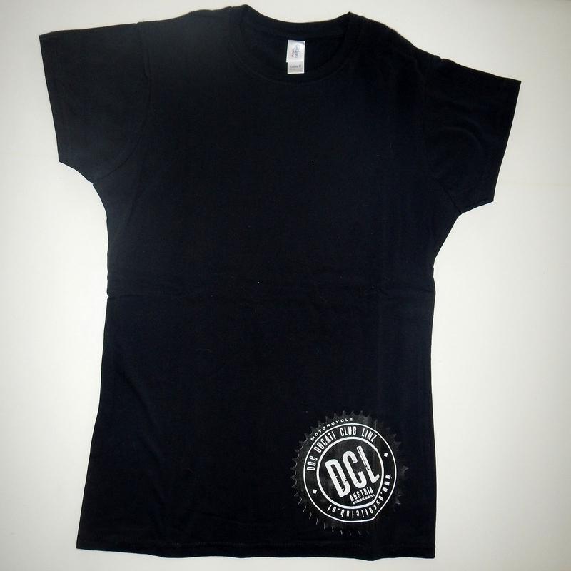 Damen Rundhals-Shirt mit flächigem Druck