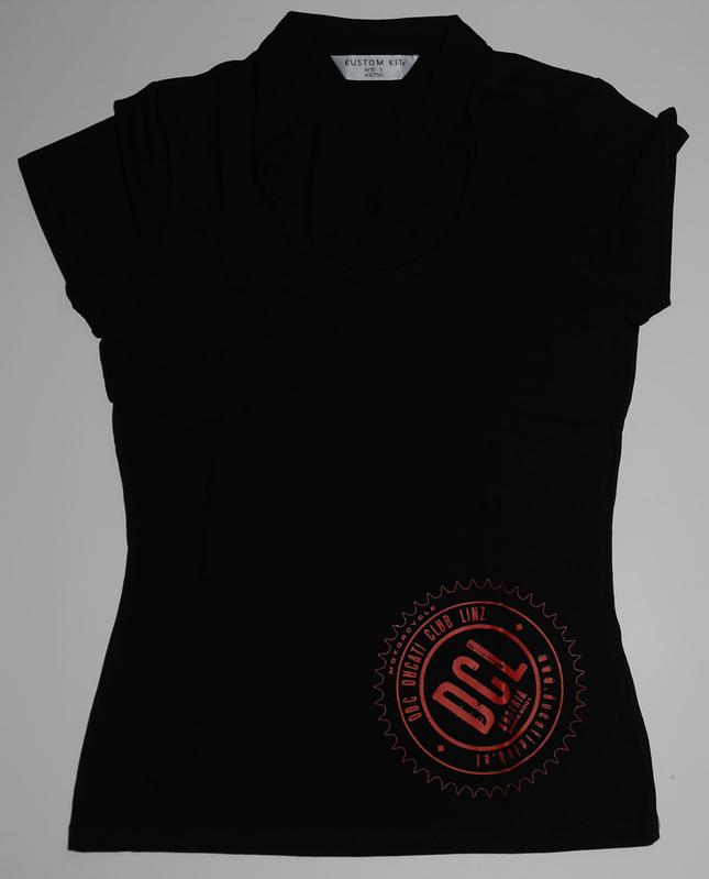 Damen-Top mit rundem Decolletée